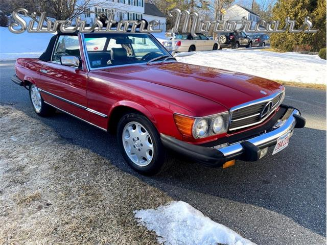 1981 Mercedes-Benz 380SL (CC-1452069) for sale in North Andover, Massachusetts