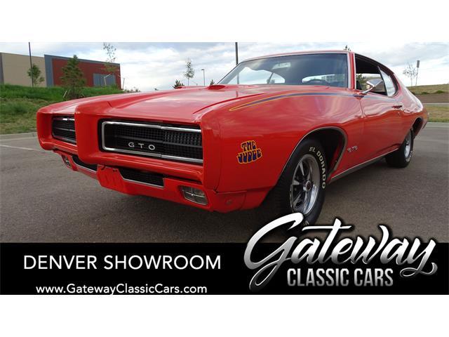 1969 Pontiac GTO (CC-1452187) for sale in O'Fallon, Illinois