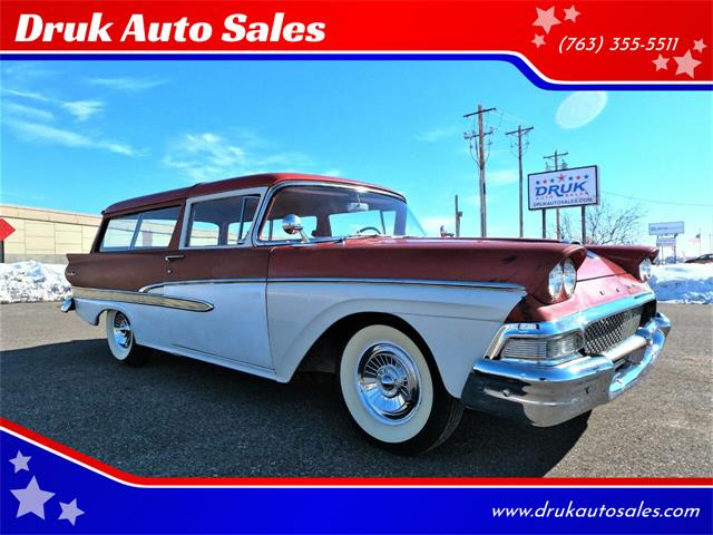 1958 Ford Ranch Wagon (CC-1452193) for sale in Ramsey, Minnesota