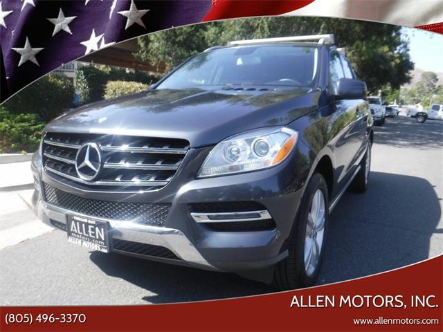 2013 Mercedes-Benz M-Class (CC-1452199) for sale in Thousand Oaks, California