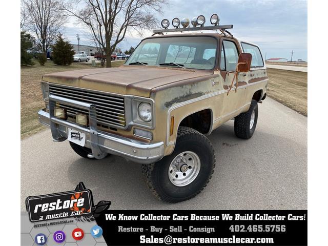1976 Chevrolet Blazer (CC-1452209) for sale in Lincoln, Nebraska