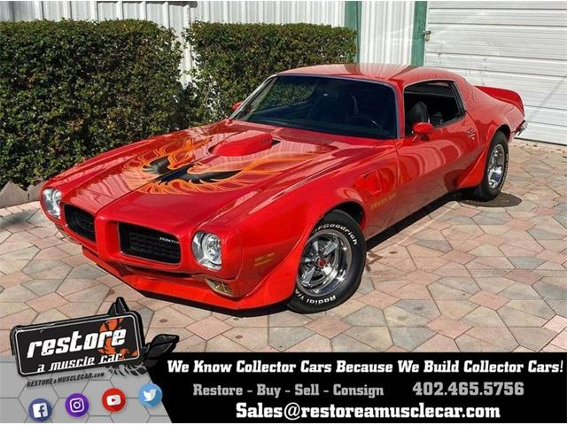 1973 Pontiac Firebird Trans Am (CC-1452211) for sale in Lincoln, Nebraska
