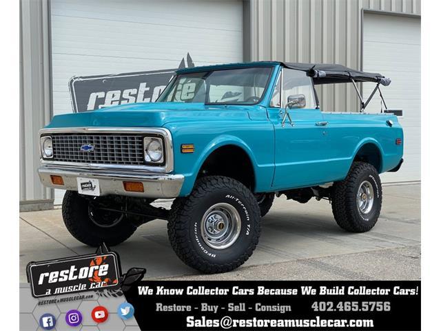 1972 Chevrolet Blazer (CC-1452223) for sale in Lincoln, Nebraska