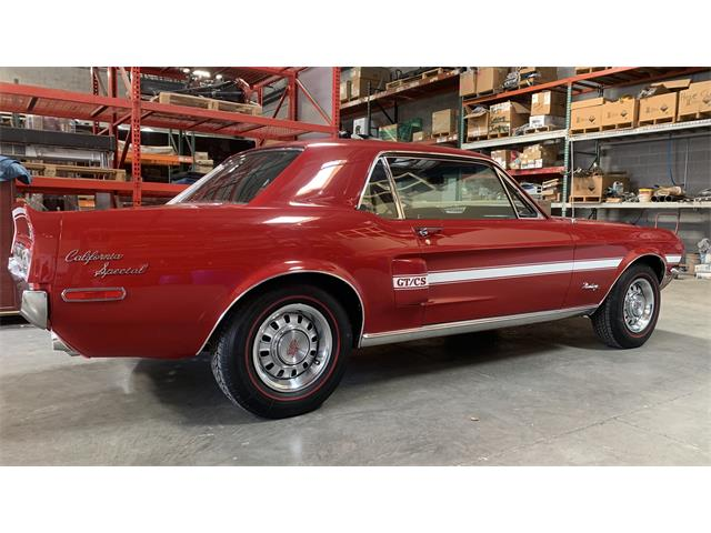 1968 Ford Mustang GT/CS (California Special) (CC-1452487) for sale in Chandler, Arizona