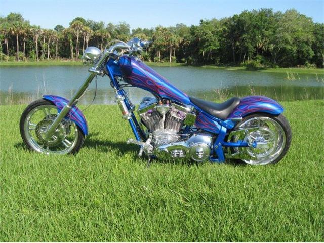2002 American Ironhorse Motorcycle (CC-1452575) for sale in Cadillac, Michigan