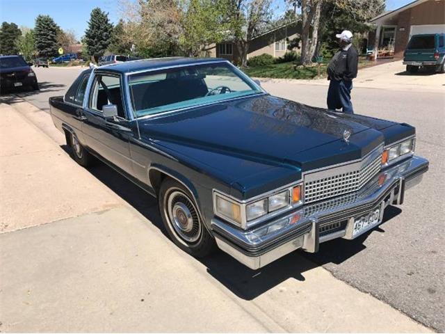 1979 Cadillac Coupe DeVille (CC-1452663) for sale in Cadillac, Michigan