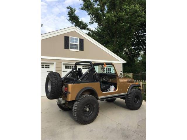 1982 Jeep CJ7 (CC-1452673) for sale in Cadillac, Michigan