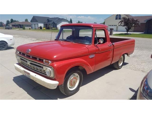 1966 Ford F100 (CC-1452690) for sale in Cadillac, Michigan