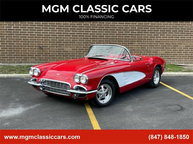 1961 Chevrolet Corvette (CC-1452715) for sale in Addison, Illinois