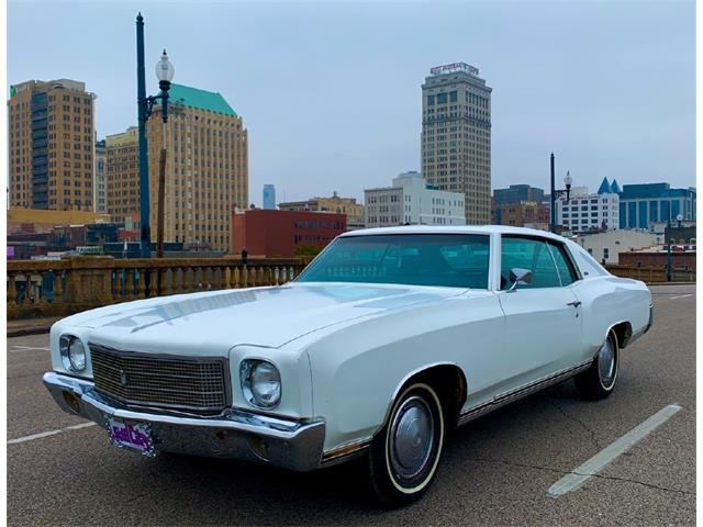 1970 Chevrolet Monte Carlo (CC-1450284) for sale in West Pittston, Pennsylvania