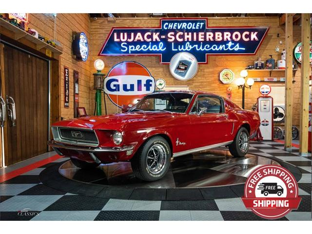 1968 Ford Mustang (CC-1452857) for sale in Green Brook, New Jersey
