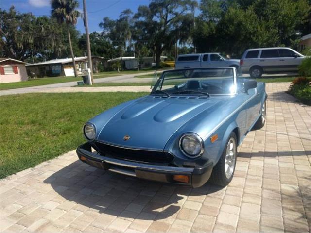 1981 Fiat Spider (CC-1450293) for sale in Cadillac, Michigan