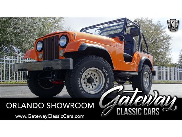 1976 Jeep CJ5 (CC-1452998) for sale in O'Fallon, Illinois