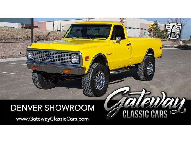 1971 Chevrolet C20 (CC-1453119) for sale in O'Fallon, Illinois