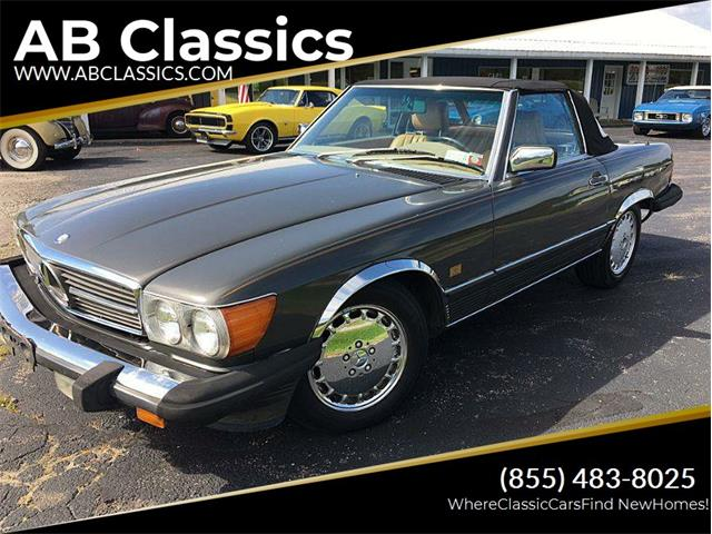 1987 Mercedes-Benz 560 (CC-1453248) for sale in Malone, New York
