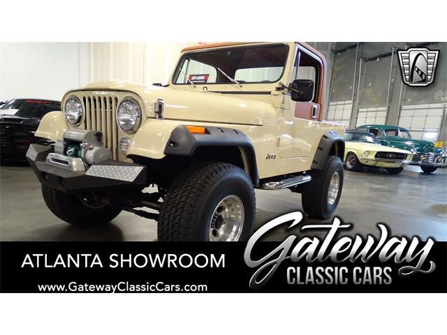 1984 Jeep CJ7 (CC-1453764) for sale in O'Fallon, Illinois