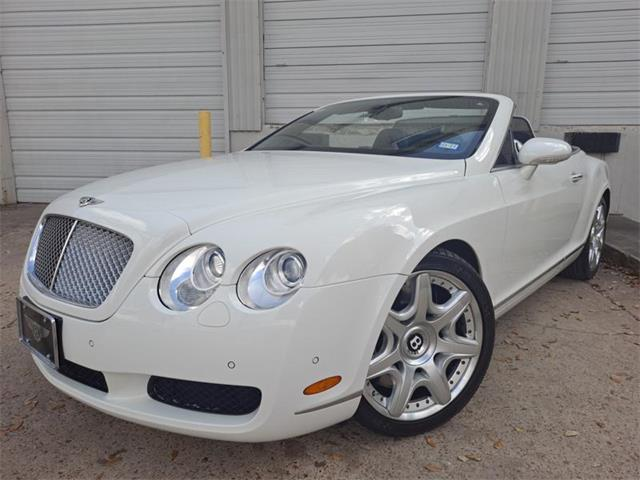 2008 Bentley Continental GTC Mulliner (CC-1454148) for sale in HOUSTON, Texas