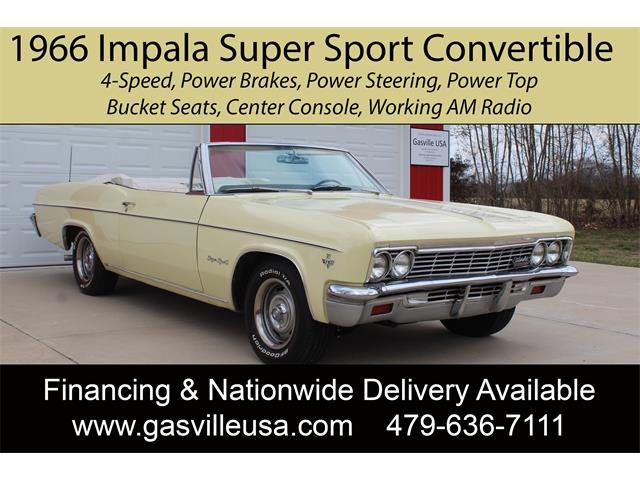 1966 Chevrolet Impala SS (CC-1454429) for sale in Rogers, Arkansas