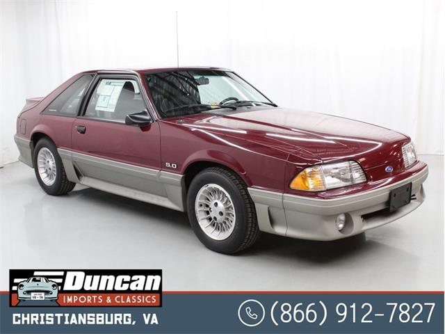 1989 Ford Mustang (CC-1454444) for sale in Christiansburg, Virginia