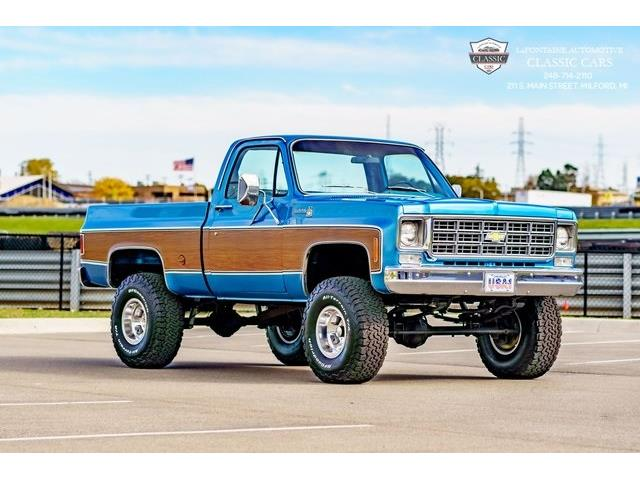 1978 Chevrolet K-10 (CC-1454542) for sale in Milford, Michigan