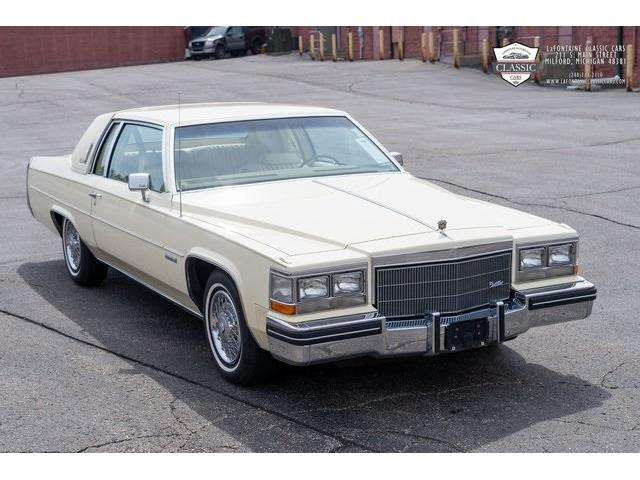 1983 Cadillac Coupe DeVille (CC-1454549) for sale in Milford, Michigan