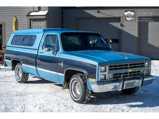 1987 Chevrolet Silverado (CC-1454552) for sale in Milford, Michigan