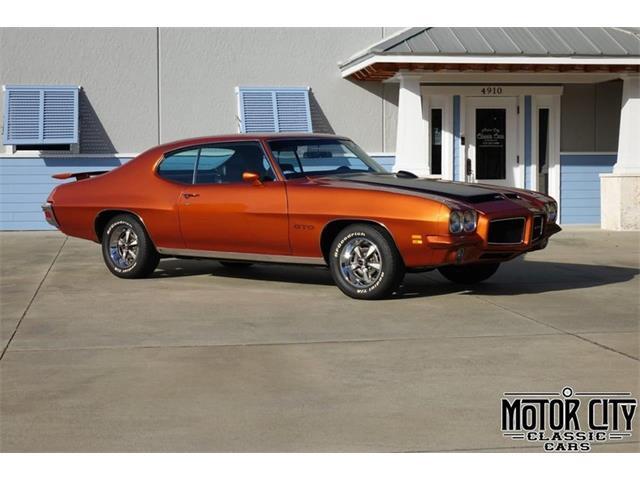 1971 Pontiac GTO (CC-1454617) for sale in Vero Beach, Florida