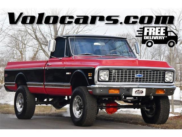 1971 Chevrolet CST 10 (CC-1454835) for sale in Volo, Illinois