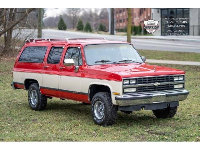 1989 Chevrolet Suburban (CC-1454862) for sale in Milford, Michigan