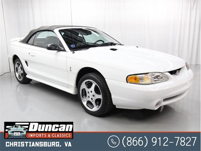 1996 Ford Mustang (CC-1455099) for sale in Christiansburg, Virginia