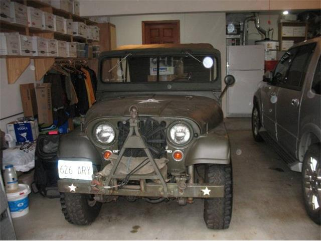 1959 Jeep Military (CC-1455308) for sale in Cadillac, Michigan