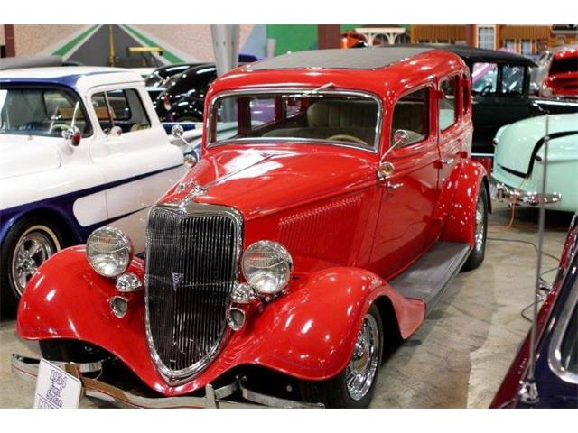 1934 Ford Sedan (CC-1455352) for sale in Cadillac, Michigan