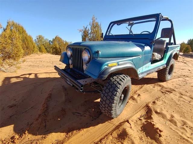 1979 Jeep CJ7 (CC-1455363) for sale in Cadillac, Michigan