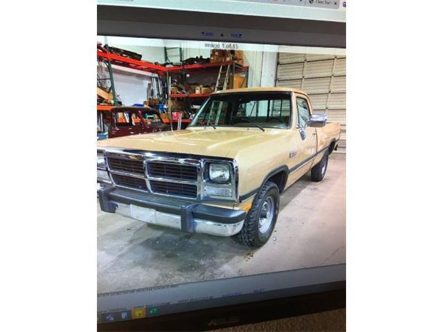 1991 Dodge W250 (CC-1455391) for sale in Cadillac, Michigan