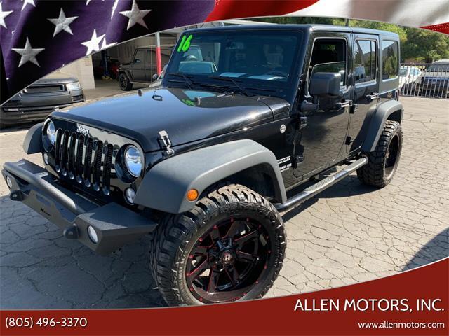 2016 Jeep Wrangler (CC-1455475) for sale in Thousand Oaks, California