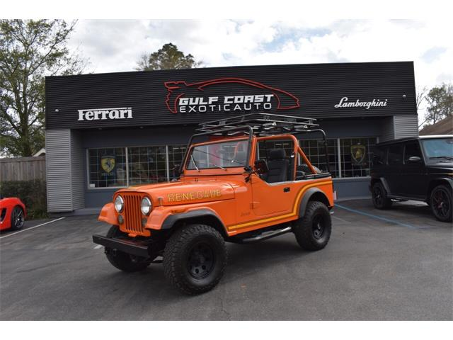 1986 Jeep CJ7 (CC-1455502) for sale in Biloxi, Mississippi