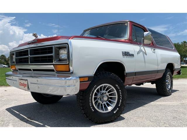 1987 Dodge Ramcharger (CC-1455610) for sale in Greensboro, North Carolina