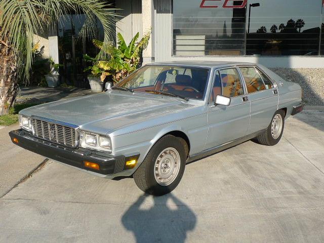 1984 Maserati Quattroporte (CC-1455695) for sale in Anaheim, California
