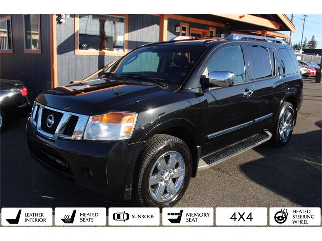 2010 Nissan Armada (CC-1455881) for sale in Tacoma, Washington