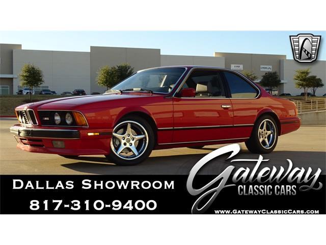 1988 BMW M6 (CC-1455937) for sale in O'Fallon, Illinois