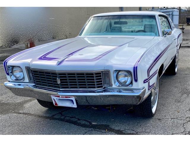 1972 Chevrolet Monte Carlo (CC-1456007) for sale in Dayton, Ohio