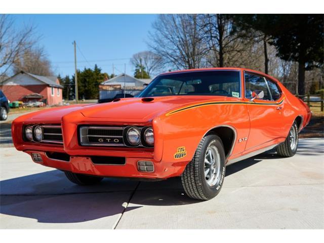 1969 Pontiac GTO (CC-1456348) for sale in Greensboro, North Carolina