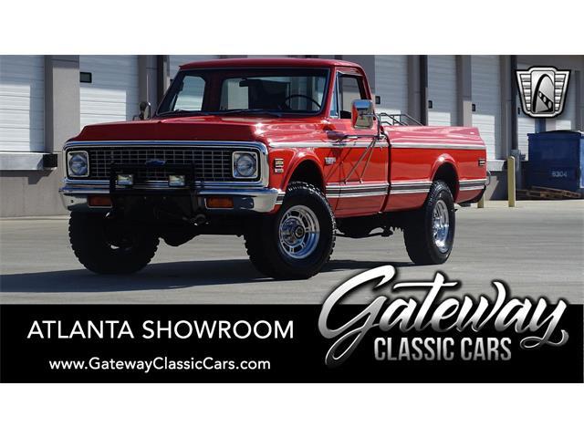 1972 Chevrolet K-20 (CC-1456509) for sale in O'Fallon, Illinois