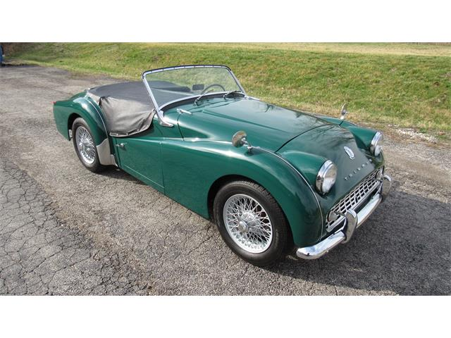 1961 Triumph TR3A (CC-1456749) for sale in Washington, Missouri