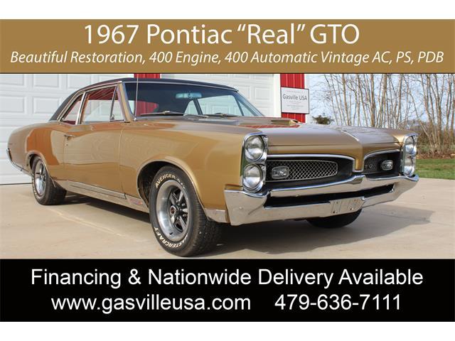 1967 Pontiac GTO (CC-1456754) for sale in Rogers, Arkansas