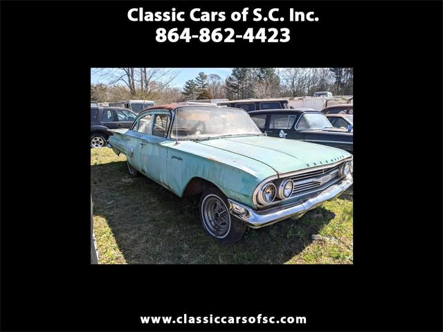 1960 Chevrolet Biscayne (CC-1456884) for sale in Gray Court, South Carolina