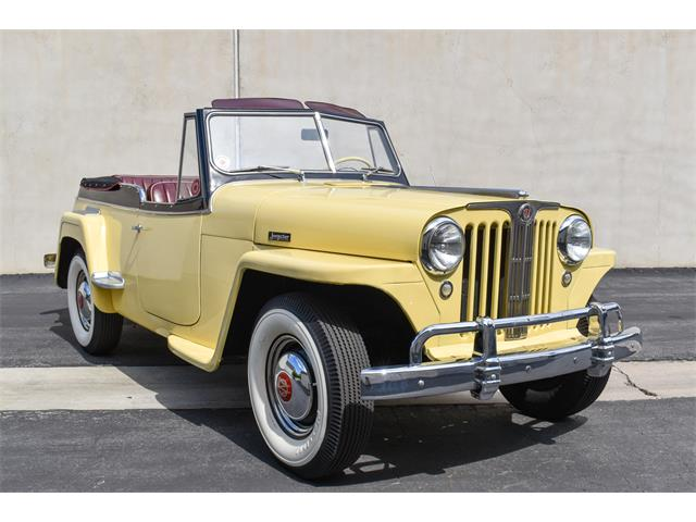 1949 Willys Jeepster (CC-1457031) for sale in Costa Mesa, California