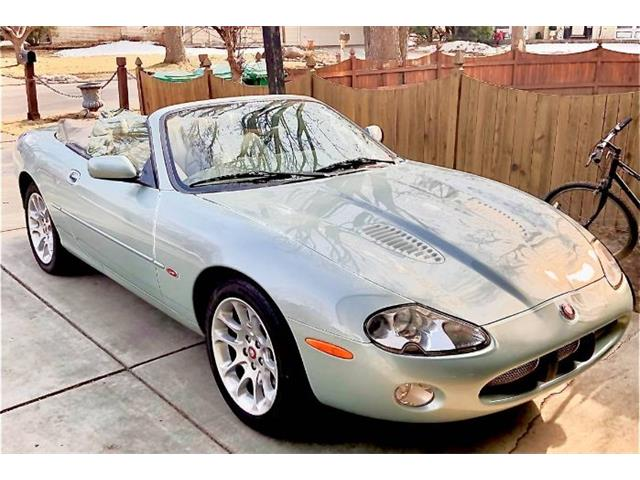 2001 Jaguar XKR (CC-1457165) for sale in Cadillac, Michigan