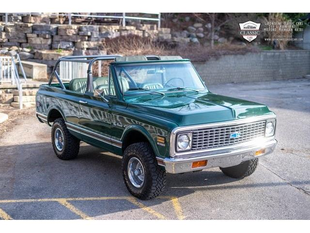 1971 Chevrolet Blazer (CC-1457195) for sale in Milford, Michigan