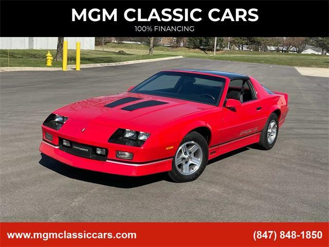 1989 Chevrolet Camaro (CC-1457224) for sale in Addison, Illinois